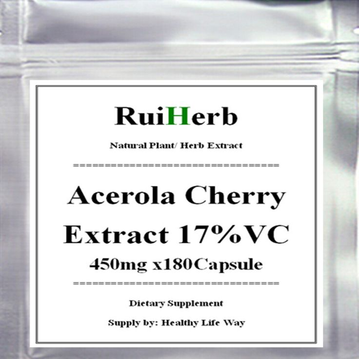 1Pack Acerola Cherry Extract 450mg x180Capsule - The Ultimate Vitamin C Health Food 17% Vitamin C