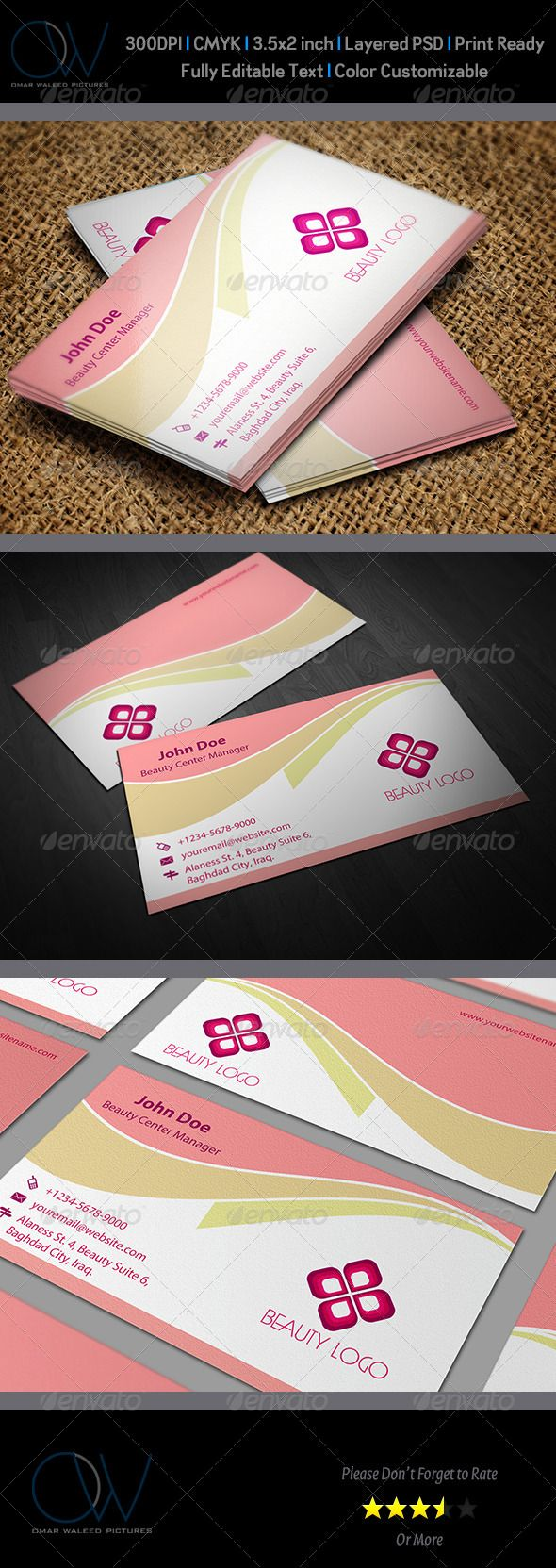 120 best business card images on pinterest fonts business cards beauty salon business card template vol1 magicingreecefo Images