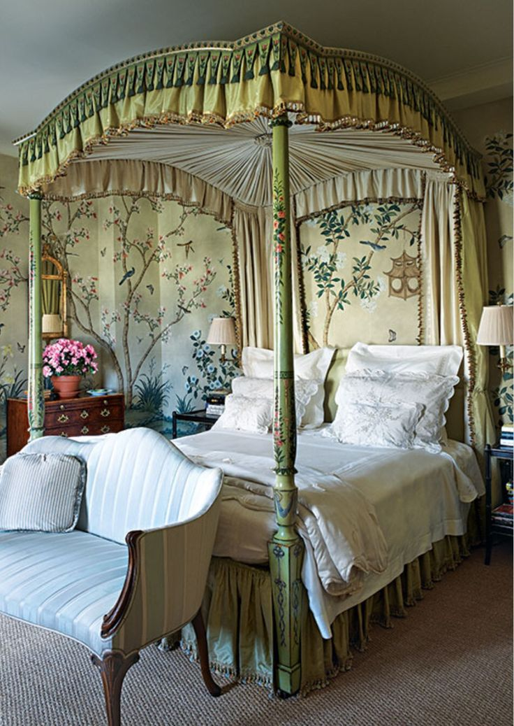 579 best romantic canopy beds images on pinterest | beautiful