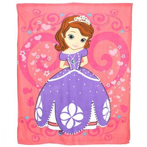 http://www.carillobiancheria.it/coperta-plaid-disney-principessa-sofia-in-soffice-pile-colore-rosa-l783.html #carillolist