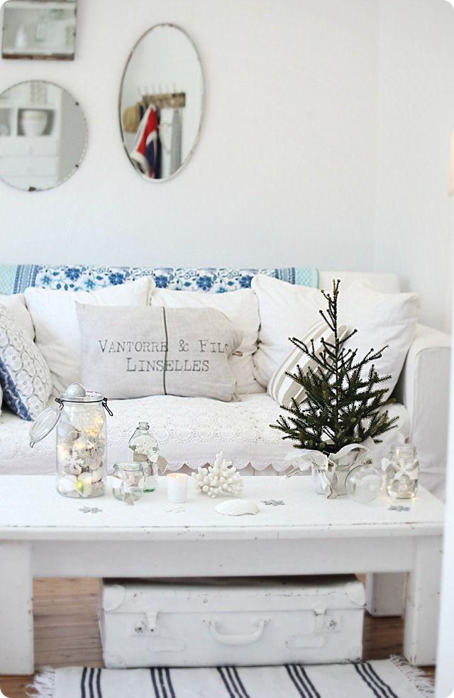 204 best Beachy Christmas images on Pinterest Beach christmas - coastal christmas decorations