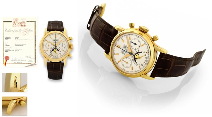 PATEK PHILIPPE YELLOW GOLD REF. 2499/100 - ONE OF THE LAST EVER MADE