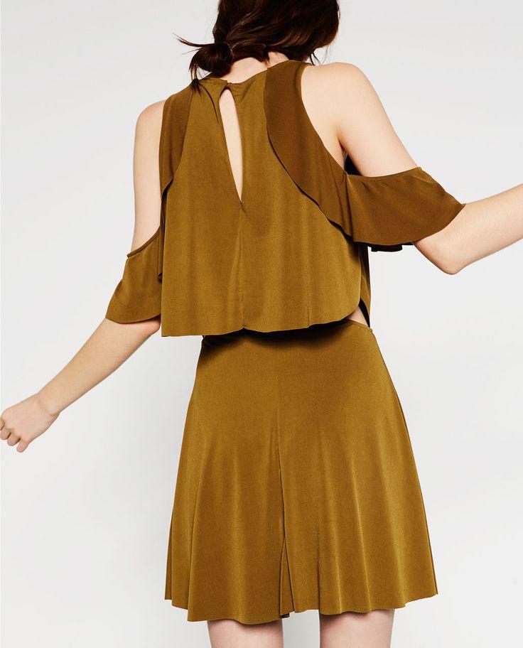 FRILLY DRESS-Mini-DRESSES-WOMAN | ZARA United States