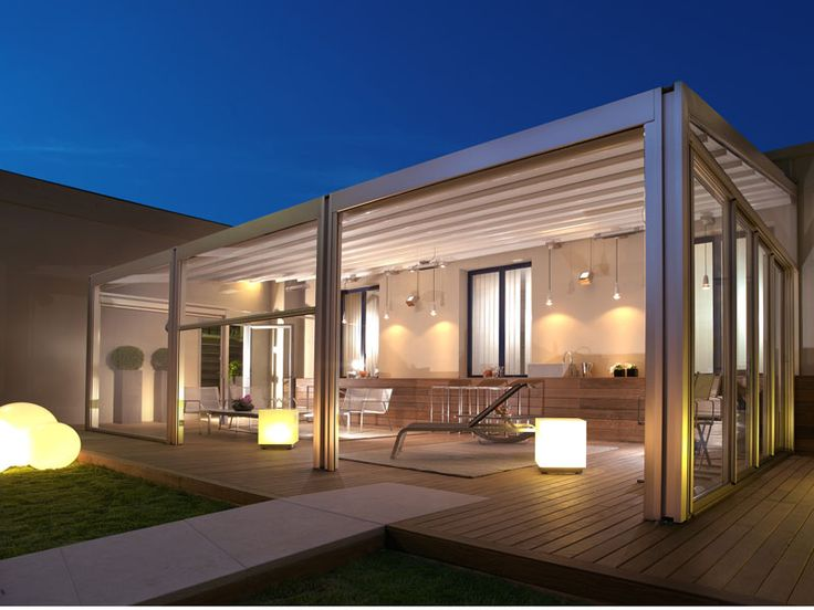 Aluminium Pergola PERGOTENDA® #WindowsWest #OutdoorDesign