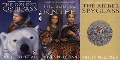 His Dark Materials...own and love this trilogy of fantastic fantasy :)