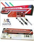 Master Replicas STAR WARS FX LIGHTSABER construction set toy - vader yoda luke anakin styles Brand NEW boxed. High quality toy from Master Replicas, superior to plastic toy lightsabers. (Barcode EAN = 0836453003950). (Barcode EAN = 0836453004292). http://www.comparestoreprices.co.uk/childs-toys/master-replicas-star-wars-fx-lightsaber-construction-set-toy--vader-yoda-luke-anakin-styles.asp