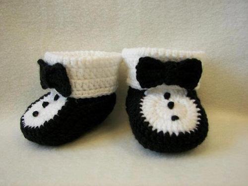 zapatos tejidos a crochet para niños - Buscar con Google
