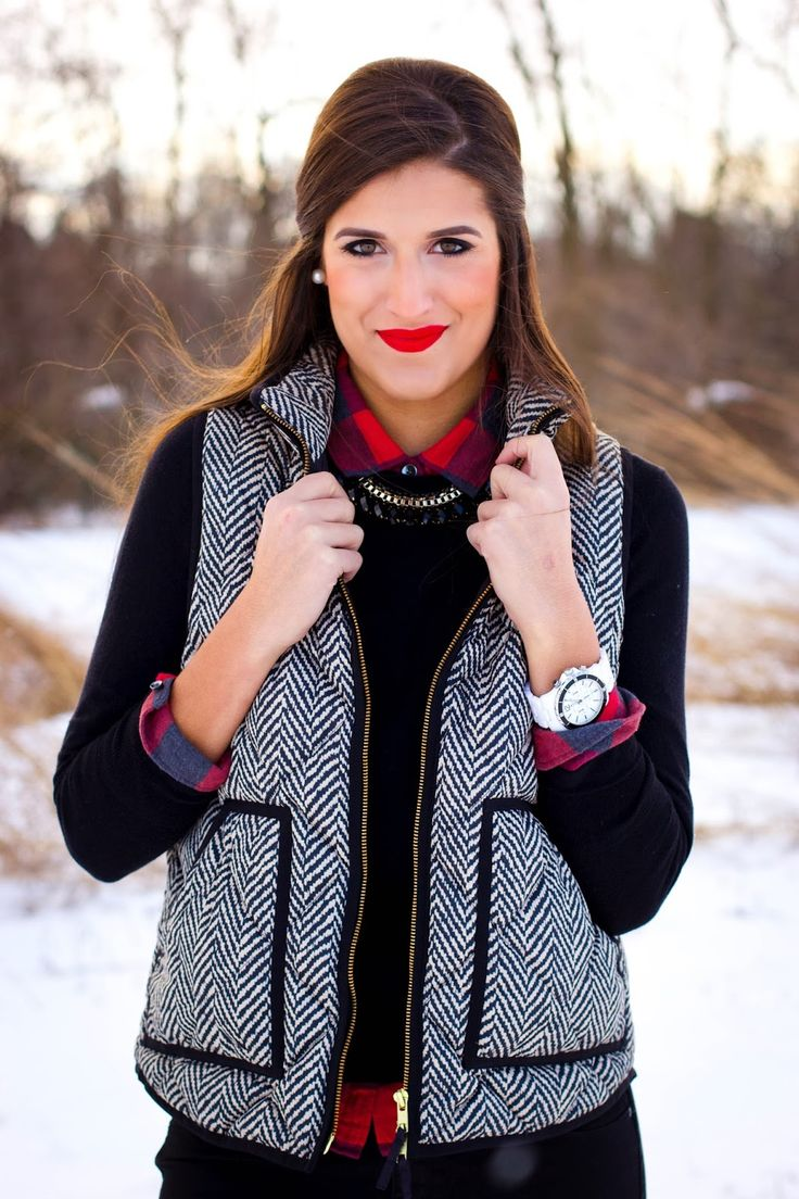 j.crew herringbone vest. just ordered this for fall! been wanting this for so long :) go get it before it sells out!