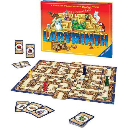 Ravensburger Labyrinth Game, Multicolor