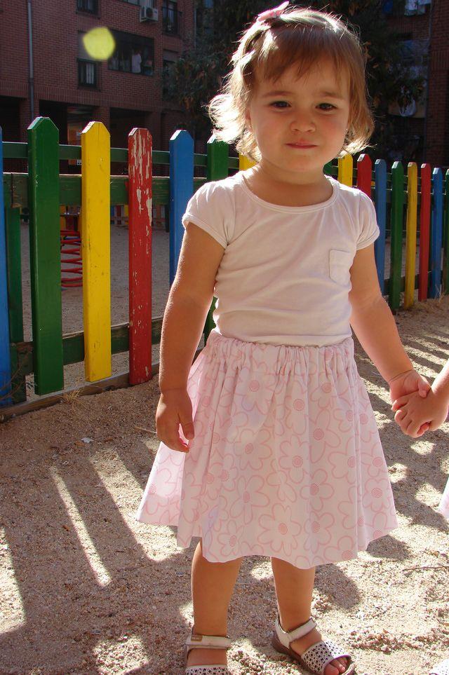 Cómo hacer una falda fruncida: Planchar y lucirla