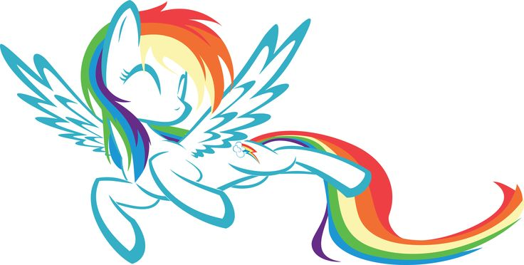 My Little Pony Friendship Is Magic Cute Rainbow Dash  My -3061