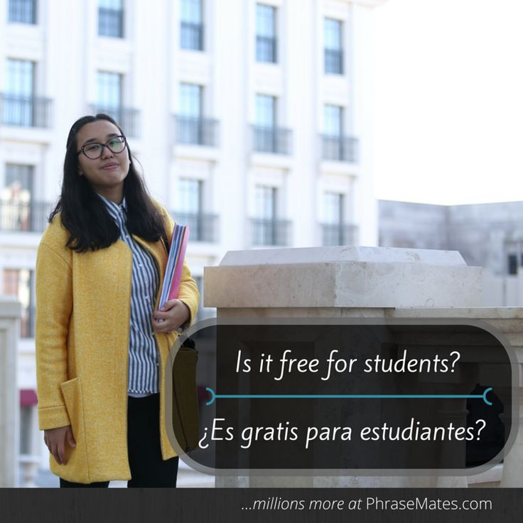 Do you enjoy visiting museums and sights? If you are a student, you may get a free admission. Keep this phrase in mind!