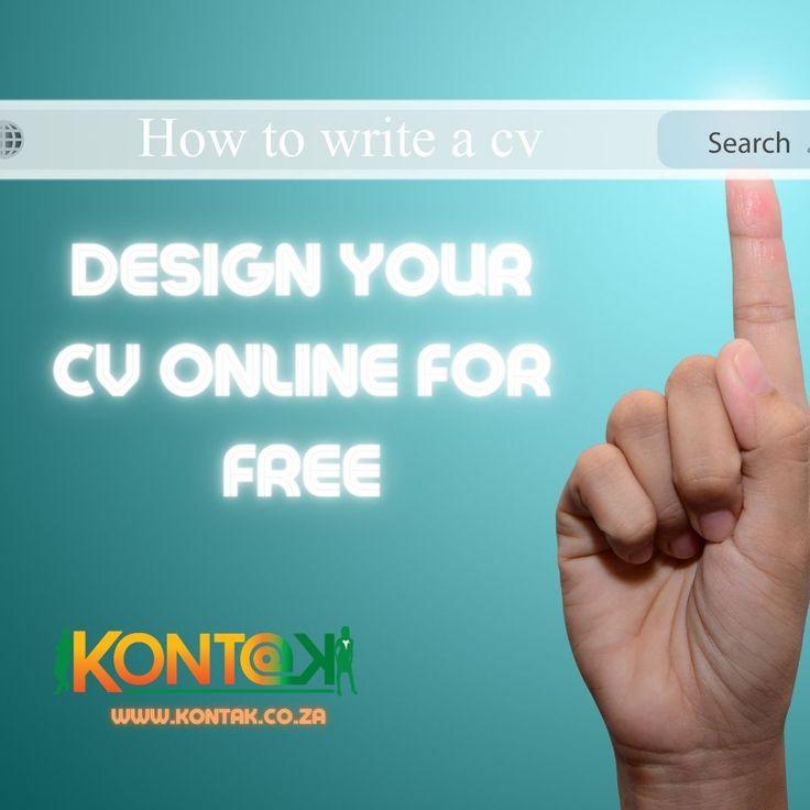 Design your cv online for free online cv cv builder