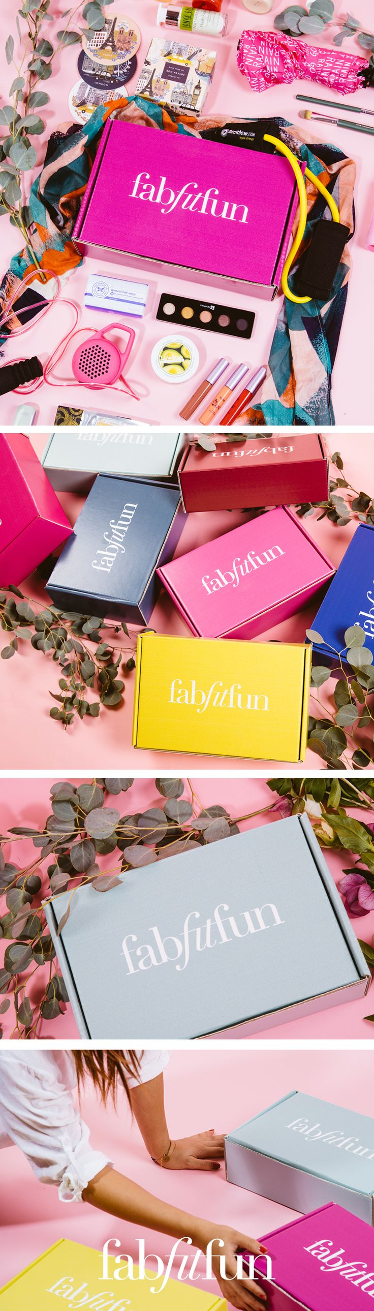 Have you tried the FabFitFun box? It's like a big surprise gift delivered to your doorstep each season. The box is stacked with premium, full-size beauty, fashion, and fitness products. See why we're the #1 full-size box! Use code PINTEREST to get your first box for just $39.99! That's $250 of glam goodies for just $39.99!