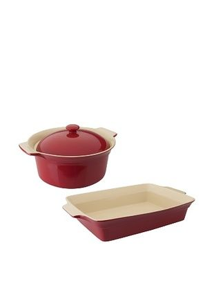 59% OFF BergHOFF Geminis 3-Piece Bakeware Set, Red
