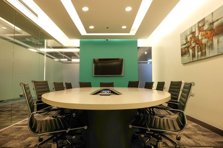 Conference room Idea / in popular business area for  Flexible offices. Space fully equipped in the Philippines.