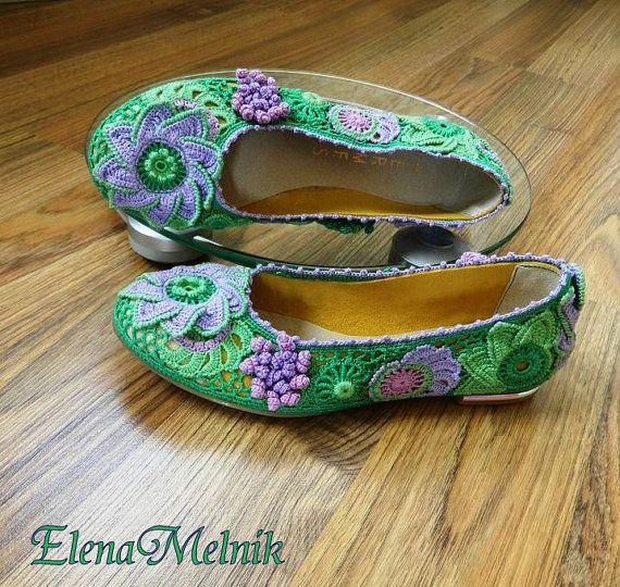 Ballet shoessummer6 by AlisaSonya on Etsy, $205.00