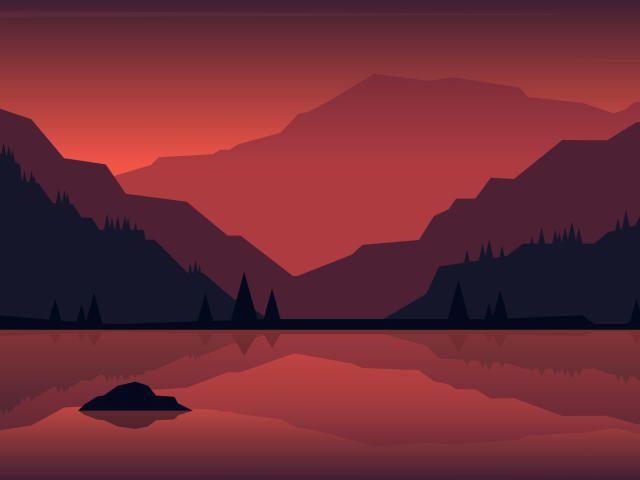 Minimalist Landscape Painting Wallpaper Hd Minimalist 4k Wallpapers Wallpapers Den Minimal Wallpaper Minimalist Landscape Landscape Paintings