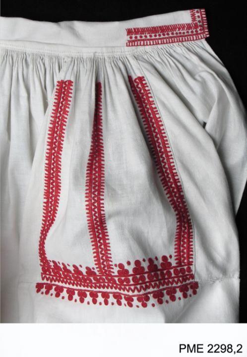 Polish Folk Costumes / Polskie stroje ludowe - Blouse from Biłgoraj, Poland. From the...
