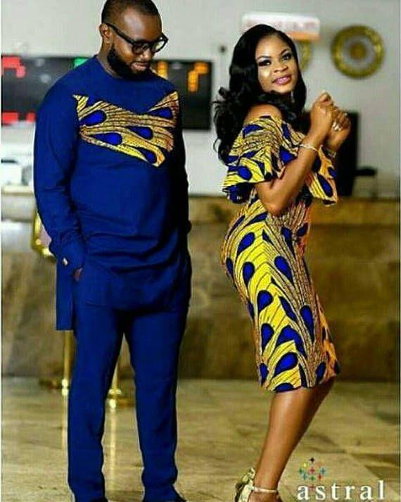 Afrikanisches Paar Set / Geschenk für Paare / afr…