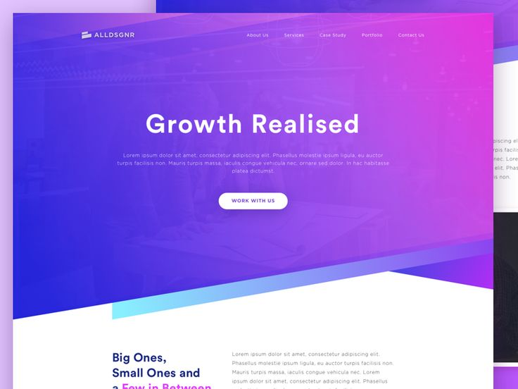 Design Agency Website by Ibnu Mas'ud