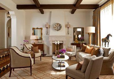 Santa Barbara Style - mediterranean - living room - santa barbara - Cabana Home