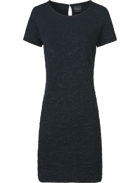 Josephine & Co Paisley jurk donkerblauw