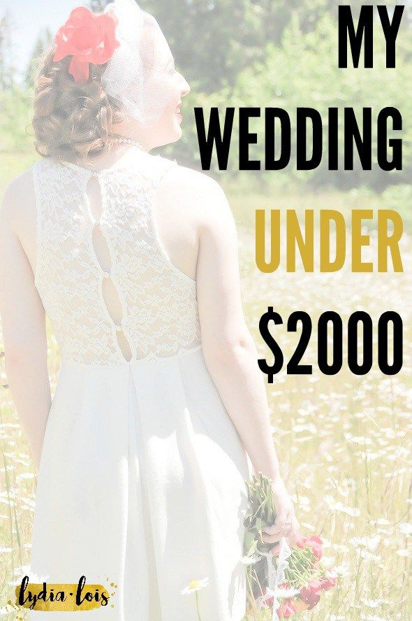 Think you have to spend a lot on you wedding day to make it special? Learn how I got the fairytale wedding on a financial budget!