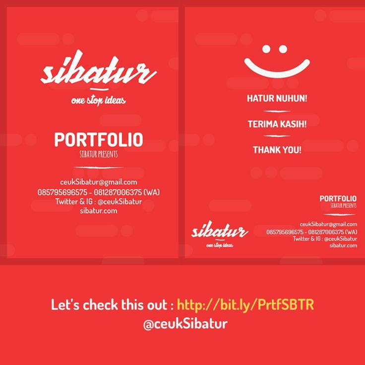 Portfolio Cover Document of Sibatur