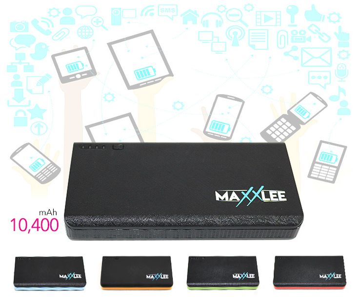 10400mAh Lithium Ion Portable Power Bank Battery Charger| Elinz