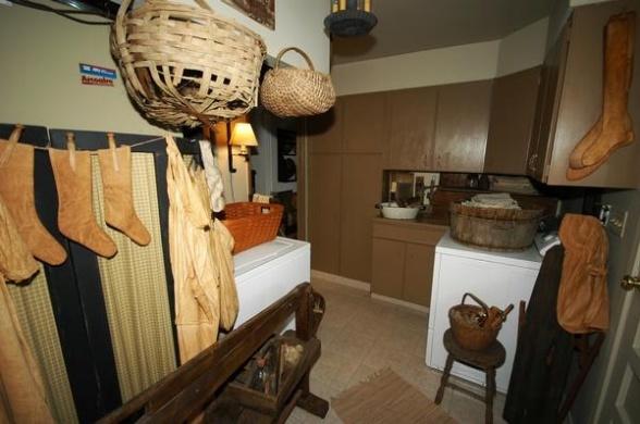 Primitive Laundry Room Bathroom Ideas Pinterest