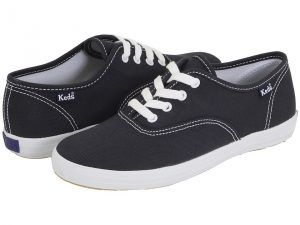 Keds Kids Original Champion CVO (Little Kid/Big Kid) (Navy Canvas) Girls Shoes