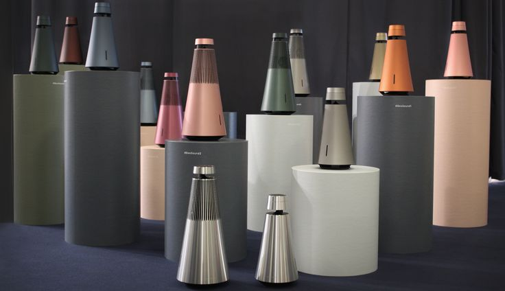 Colourful BeoSound 1 and BeoSound 2 at IFA 2016! Magical experiences with 360-degree sound performance.