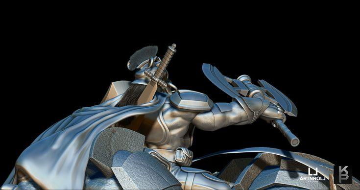 King Orc Muruk concept