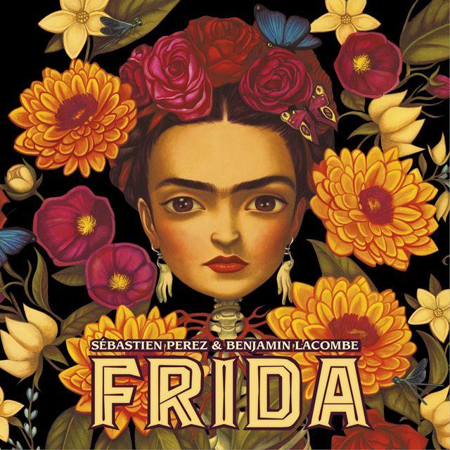 """""""Frida"""" es el último libro de Sébastien Perez ilustrado por Benjamin Lacombe. En él ambos autores muestran una visión muy personal de la vida y obra de la artista mexicana Frida Kahlo."""