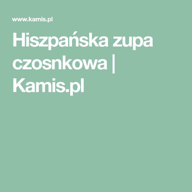 Hiszpańska zupa czosnkowa | Kamis.pl