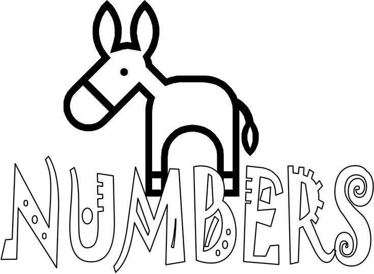 Bible Coloring Pages For Kids Free Printable Books Of The Numbers