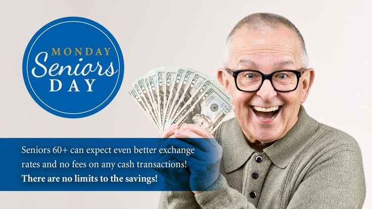 Every Monday is now Seniors Day at Continental Currency Exchange! No fees on cash transactions and even better exchange rates! Find out what Seniors (60+) have to gain from this exciting new promotion: http://fxperts.ca/Senior-Discounts