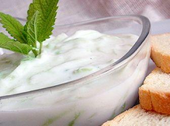 Tzatziki saláta recept