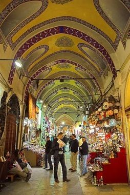 The Grand Bazaar is the perfect place to go shopping in Istanbul.