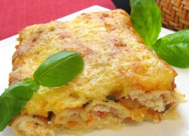 Рецепт-Каннеллони, фаршированные фетой и помидорами | Новогодние рецепты