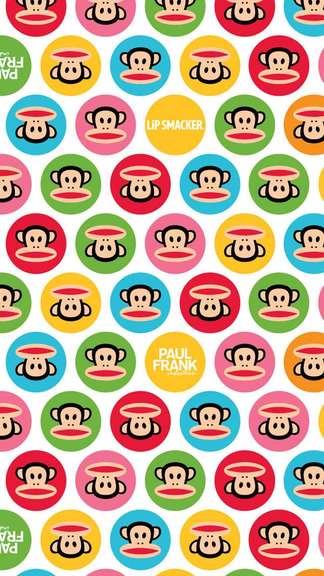 paul frank, if I ever have a baby here is the wall paper.