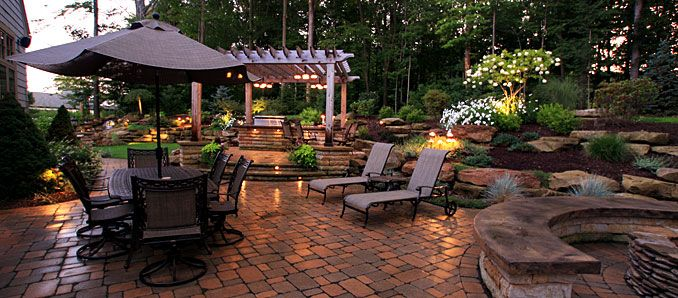 Top Residential Landscape Architecture Firms : Green residential architecture ohio landscape company