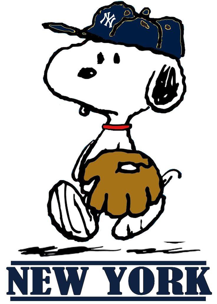 Snoopy yankees