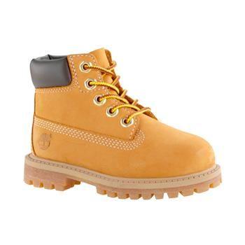 Timberland - Boots 6-inch Premium WP Enfant du 20 au 30 - Jaune