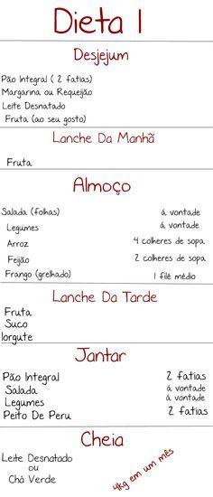 Blogue de Hobby : Derrapadas+Cardápio Da Dieta!