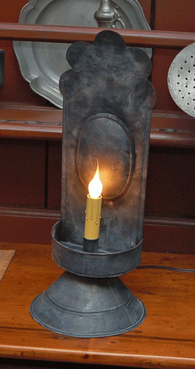 Aged Tin Boston light