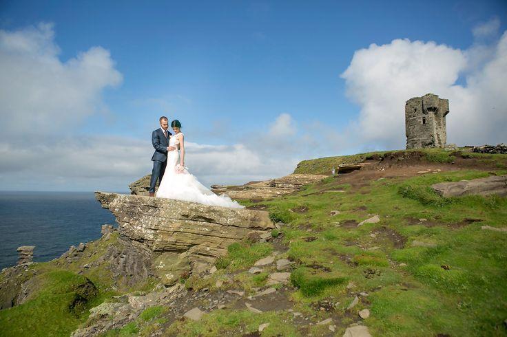 Doolin Elopement Wedding Photography  Hags Head