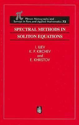Resultado de imagen de spectral soliton iliev