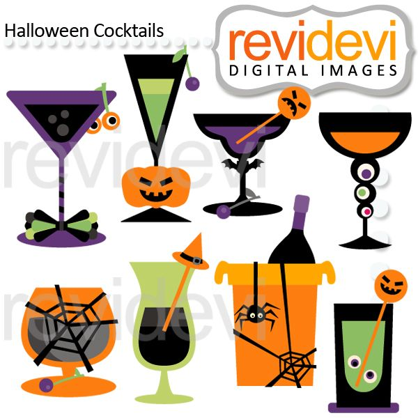 halloween cocktails great for invitations scrapbooking and more - Great Halloween Drinks
